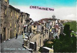 Abruzzo-chieti-casalanguida Via Del Popolo Animata Bella Veduta Anni 50/60 - Italia