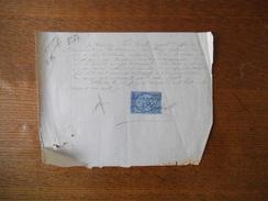 POILLEY LE 24 NOVEMBRE 1877 LOUIS COLIN AGENT D'AFFAIRES  RECU DE LOUIS DELANOË CULTIVATEUR A POILLEY CREANCE LECOQ - Manoscritti