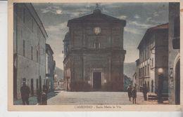 Camerino Macerata Santa Maria In Via 1935 - Macerata