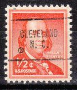 USA Precancel Vorausentwertung Preo, Locals North Carolina, Cleveland 704 - Vereinigte Staaten