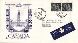 Canada - FDC 30-12-1971 - Jahrhundertfeier (Centennial-Serie) - M 494 - 1971-1980