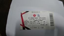 Israel-match Tickets-(44)-foot Ball-hapoel Tel-aviv-hapoel Katamon-(50.00)-(27.10.2017)-(648)(number-41242748)-payler - Match Tickets