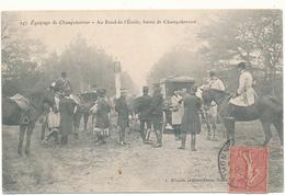 CLERE - Equipage De Champchevrier Au Rond De L'Etoile - Chasse à Courre - Cléré-les-Pins
