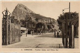 Frontier Gates And Police Hut   (101667) - Gibraltar