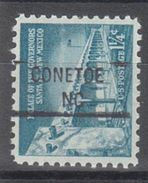 USA Precancel Vorausentwertung Preo, Locals North Carolina, Conetoe 841 - United States