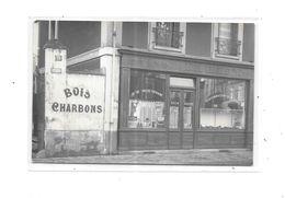 75 - Carte Photo Devanture Commerce BOIS, CHARBON, BUTIN Au N° 78 - Te Identificeren