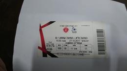 Israel-match Tickets-(45)-foot Ball-hapoel Tel-aviv-hapoel Katamon-(50.00)-(27.10.2017)-(3190)(number-71055634)-payler - Match Tickets