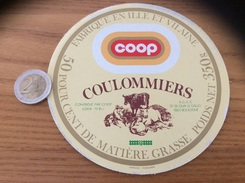 Étiquette Fromage «Coulommiers Coop SGCC BOULOGNE (92)» 35J - Formaggio