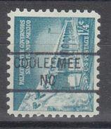 USA Precancel Vorausentwertung Preo, Locals North Carolina, Cooleemee 841 (d8) - Vereinigte Staaten