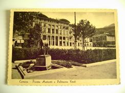 CARRARA - PIAZZA MATTEOTTI   TOSCANA  VIAGGIATA COME DA FOTO - Carrara