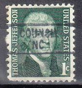 USA Precancel Vorausentwertung Preo, Locals North Carolina, Council 841 - Vereinigte Staaten