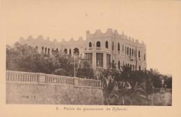 CARTOLINA NON VIAGGIATA PRIMI 900 PALAIS DE GOUVERNEUR DE DJIBOUTI-OCCUPAZIONE FRANCESE (CT256 - Gibuti