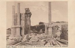 CARTOLINA NON VIAGGIATA PRIMI 900 LEPTIS MAGNA ARCO DI SETTIMIO SEVERO- COLONIE ITALIANE (CT265 - Libia