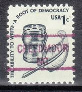 USA Precancel Vorausentwertung Preo, Locals North Carolina, Creedmoor 841 - Vereinigte Staaten