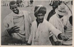 CARTOLINA NON VIAGGIATA PRIMI 900 ASMARA ERITREA -MERCANTE ARABO-COLONIE ITALIANE (CT332 - Eritrea