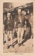 CARTOLINA NON VIAGGIATA PRIMI 900 COSTUMI ALBANESI-ALBANIA-OCCUPAZIONI ITALIANE (CT345 - Albania