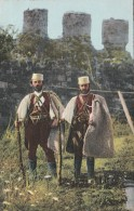 CARTOLINA NON VIAGGIATA PRIMI 900 ALBANIA- DUE CAPI DI BANDA-OCCUPAZIONE ITALIANA (CT375 - Albania