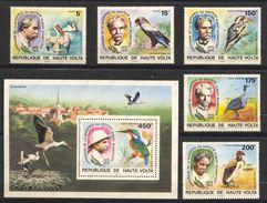 Haute-Volta, Yvert 357&358+PA190/192+BF5AF, Scott 368&369+C212/214+C215, Neuf Sans Charnière, MNH - Haute-Volta (1958-1984)