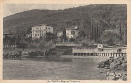 CARTOLINA VIAGGIATA PRIMI 900 LAURAMA CROAZIA OCCUPAZIONE ITALIANA (CT485 - Croatia