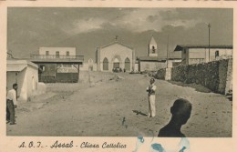 CARTOLINA VIAGGIATA PRIMI 900 NO F.BOLLO-ASSAB ERITREA-COLONIE ITALIANE (CT496 - Eritrea