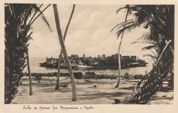 CARTOLINA VIAGGIATA 1934 SOMALIA AFIS - COLONIE ITALIANE (CT559 - Somalia