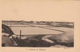 CARTOLINA NON VIAGGIATA PRIMI 900 SALINE DJIBOUTI -OCCUPAZIONE FRANCESE (CT587 - Gibuti