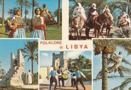 CARTOLINA NON VIAGGIATA META' 900 FOLKLORE DI LIBIA (CT602 - Libya