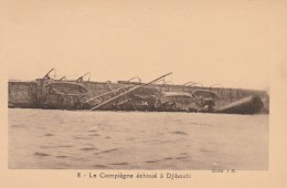 CARTOLINA NON VIAGGIATA PRIMI 900 DJIBOUTI -OCCUPAZIONE FRANCESE (CT623 - Gibuti
