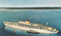 CARTOLINA NON VIAGGIATA META' 900 M/S VICTORIA (CT627 - Ferries