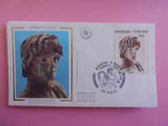 FRANCE FDC 1982 YVERT 2210 EPHEBE DÁGDE - FDC