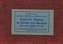 17 SAINTES Carnet Neuf De 10 Vues De La Coopérative - Saintes