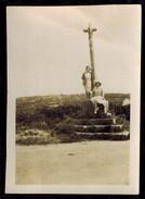 Photo 8.5 X 6 - Perros Guirec La Clarté Un Calvaire En 1931 --- Del472 - Orte
