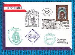 Austria - FDC Cover - 11.Luftschiffpost 01.12.1995 / Christ Kindl - Ballonpost