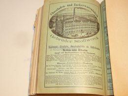 Stollwerck Chocoladen Und Zuckerwarenfabrik Köln Am Rhein Germany 1886 - Schokolade