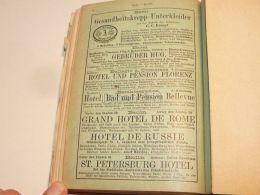 Basel Bellagio A. Comersee Berchtesgaden Berlin Suisse Germany Italy Hotel Pension 1886 - Publicités
