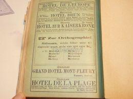 Bologna Bozen Bolzano France Cannes Hotel Italy 1886 - Pubblicitari