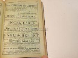 Luzern Mailand Suisse Restaurant Hotel Pension 1886 - Publicités