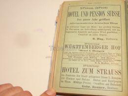 Nizza Nice France Nürnberg Germany Hotel Restaurant Pension 1886 - Pubblicitari