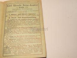 Karl Riesels Reise Kontor Berlin Zentralhotel Germany Hotel Restaurant Pension 1886 - Publicidad