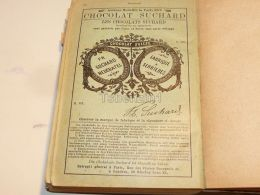 Chocolat Suchard Neuchatel Suisse Paris France 1886 - Chocolat