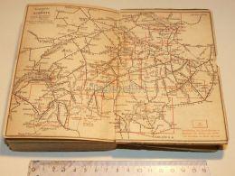 Suisse Schweiz Basel Bern Locarno Chur Schaffhausen St. Gallen Zürich Bellinzona Interlaken Map Karte 1886 - Cartes Routières
