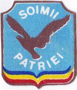 """Romania, 1980's, Vintage Communist Arm Emblem / ID Patch - Kindergarten, """"Soimii Patriei"""" - Patches"""