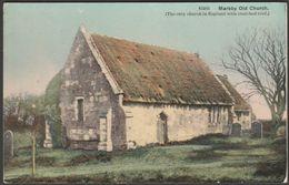 Markby Old Church, Lincolnshire, C.1910s - Photochrom Postcard - England