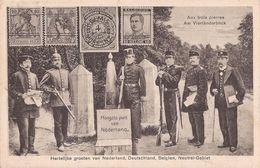 Vaals 1930 Grenze Grens Vierlanderblick Aachen Neutral Gebiet Kelmis Moresnet - 2 Scans - Vaals