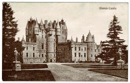 RB 1184 -  Early Postcard - Glamis Castle - Angus Scotland - Angus