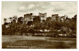 RB 1184 -  Early Postcard - Ludlow Castle From The Meadows - Shropshire - Shropshire