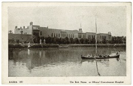 RB 1184 - Early Postcard - The Beit Nama - Officers' Convaescent Hospital - Basra Iraq - Iraq
