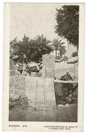 RB 1184 - Early Postcard - Pony At Water Wheel Bagdad Baghdad - Iraq - Iraq