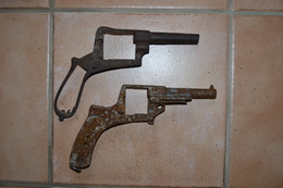 2 Carcasses De Revolvers - Sammlerwaffen
