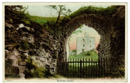 RB 1184 - Early Postcard - Norham Castle - Northumberland - Inglaterra